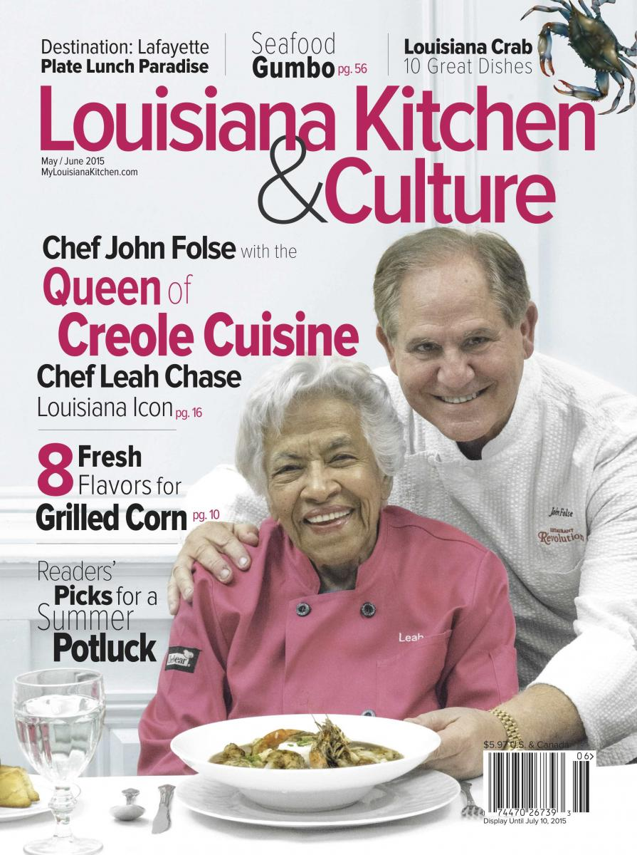 May/June 2015 Leah Chase John Folse