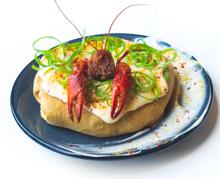 Crawfish King Cake