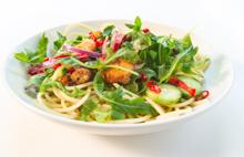 Thai Shrimp Pasta Salad