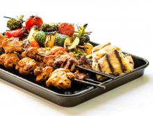 Pepper-Marinated Grilled Chicken