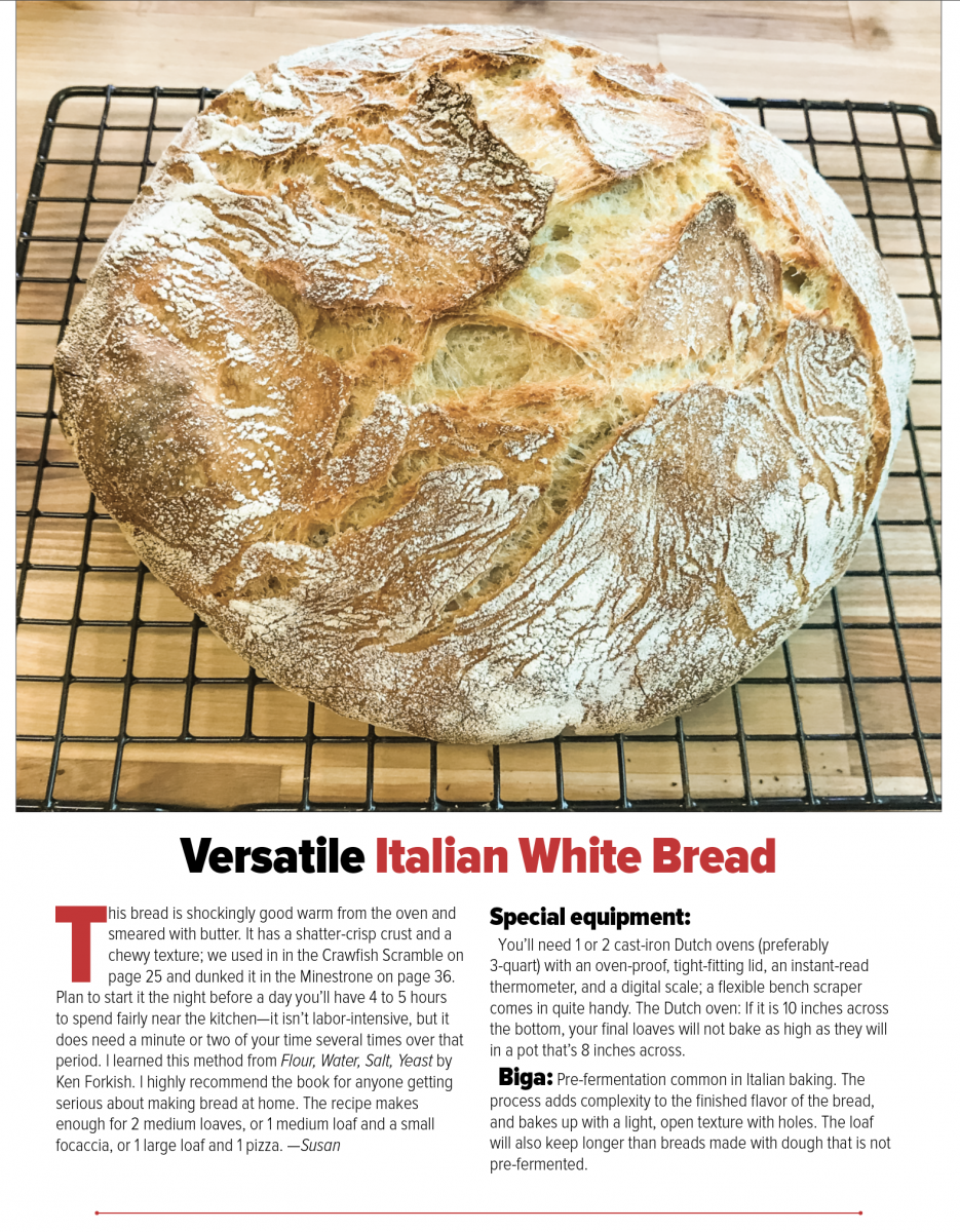 Basic Italian White Bread