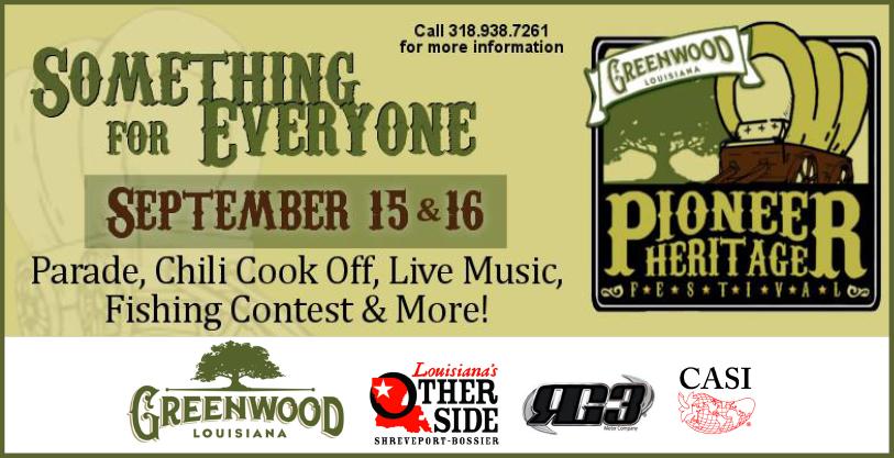 Greenwood Pioneer Heritage Festival
