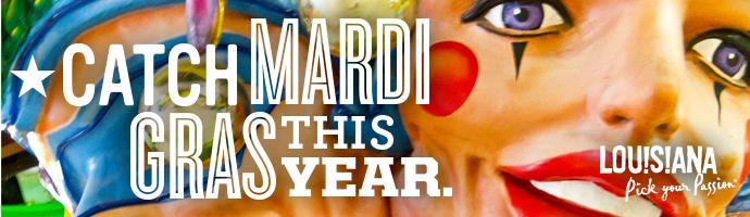 Catch Mardi Gras