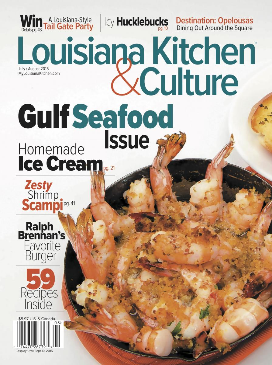 July/August Gulf Seafood