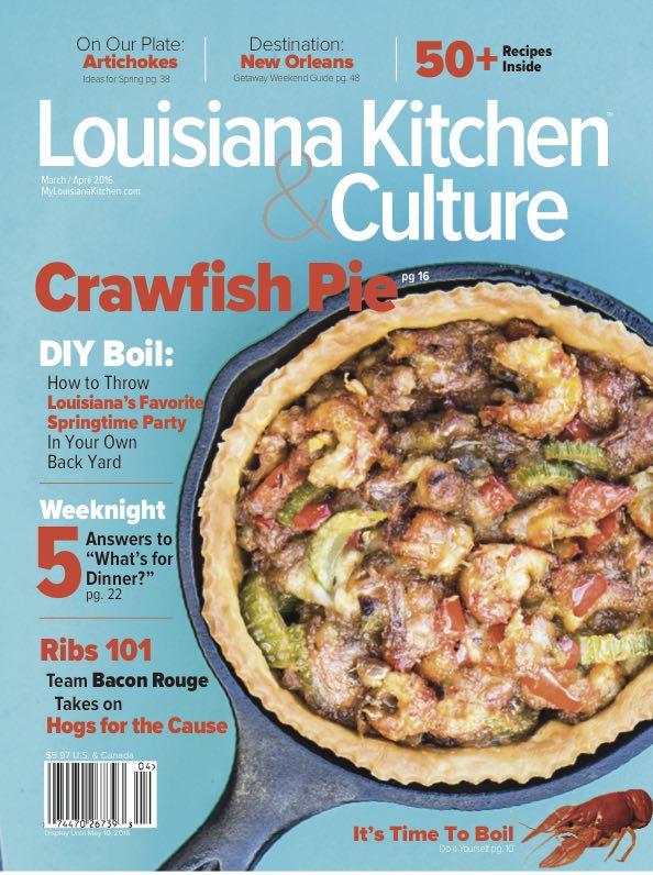 March 31 2016 Louisiana Kitchen
