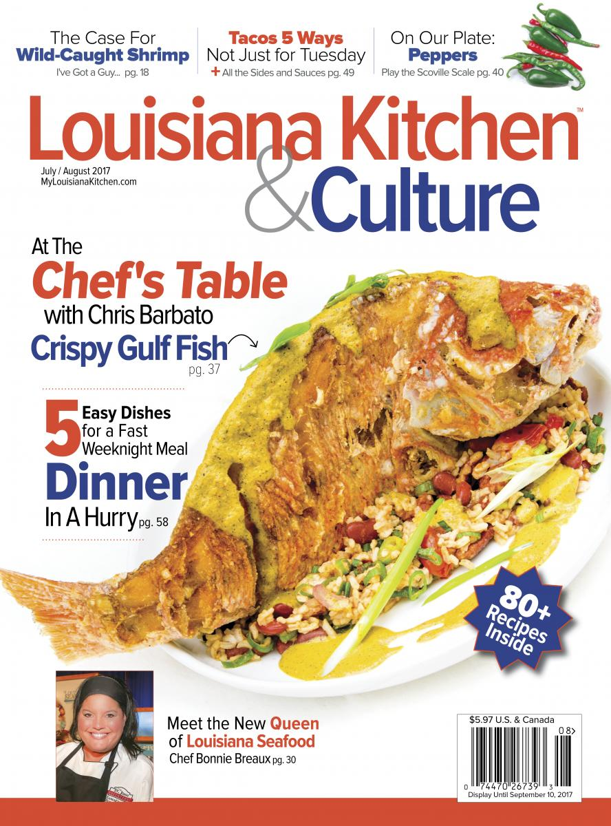 Louisiana Kitchen Culture published in New Orleans Louisiana