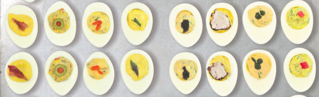 Deviled Eggs Ten Ways