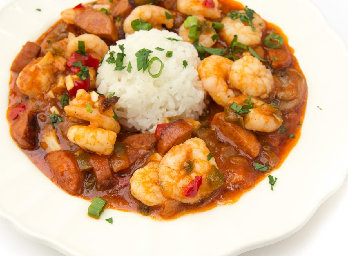 Croatian Shrimp Stew