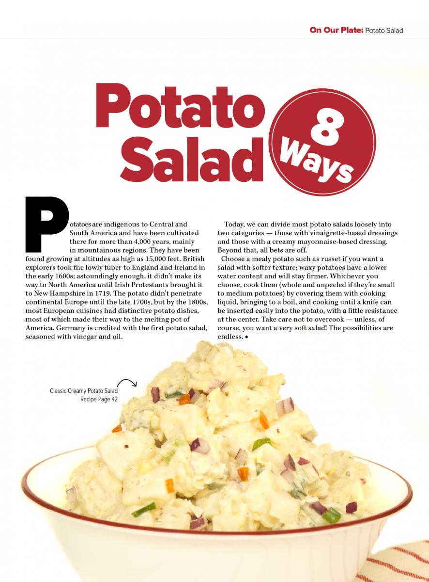 Potato Salad 8 Ways | Louisiana Kitchen & Culture