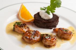 Gulf Shrimp Black Bean Cake
