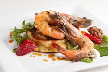 Seared Louisiana Shrimp