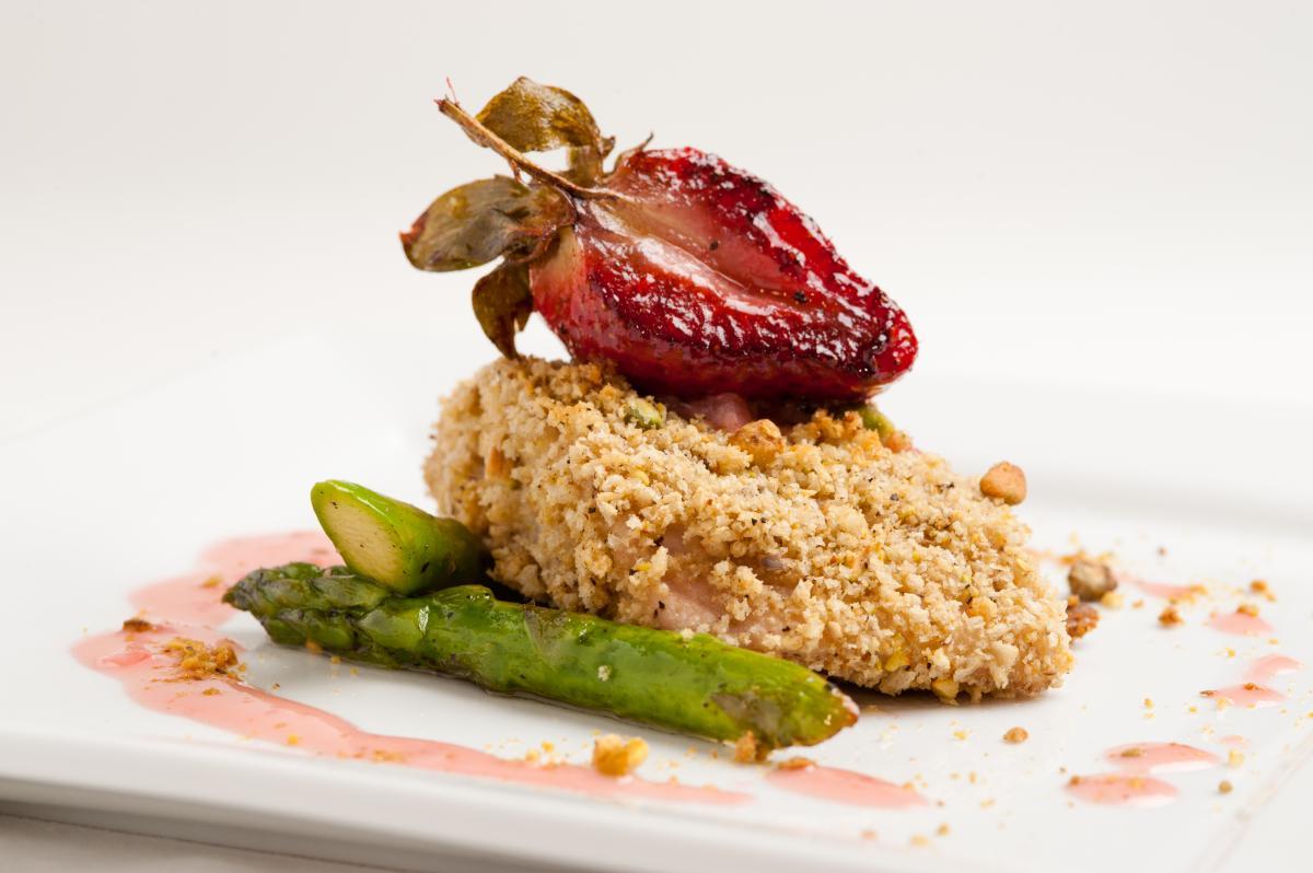 Pecan-Crusted Redfish
