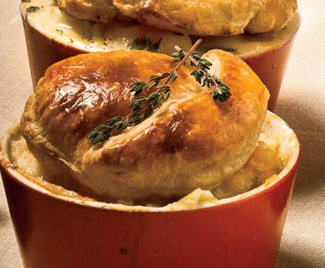 Shrimp Artichoke Pot Pie Recipe — Dishmaps