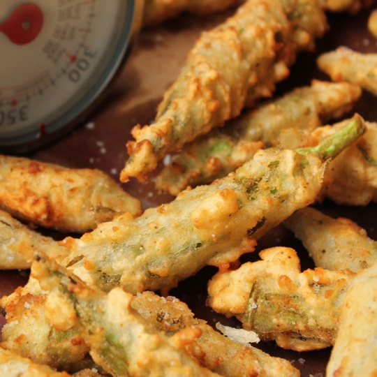 Whole Fried OkraOkra Recipes