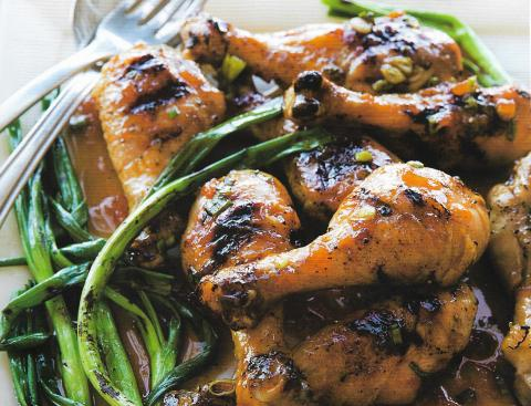 Balsamic, Honey & Rosemary Drumsticks