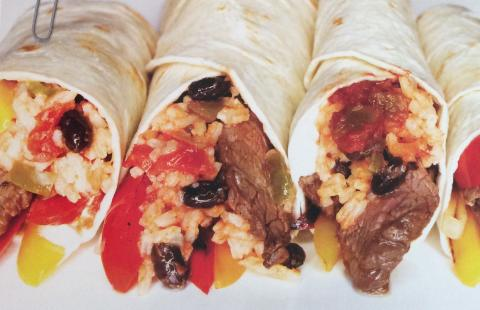 Beef Fajitas with Southwestern Rice