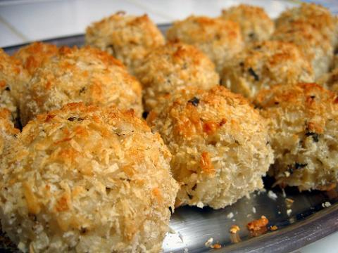 Spicy Catfish Puffs