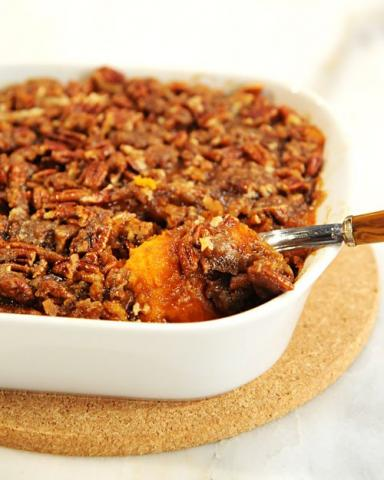 annies home: Southern Style Candied Sweet Potatoes