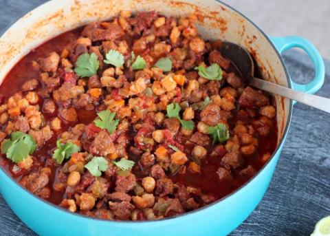 Braised Pork And Hominy Stew Louisiana Kitchen Culture