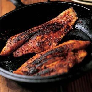 Blackened redfish louisiana kitchen culture for Blackened fish recipe