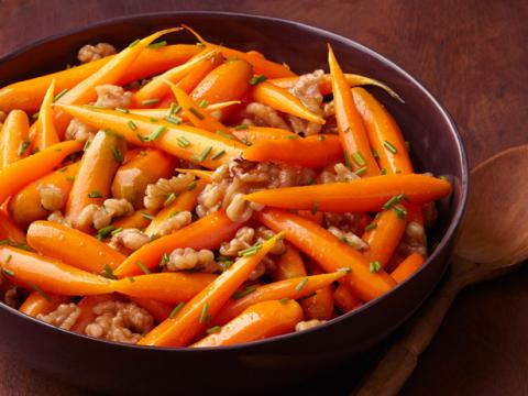 Roasted Carrots With Sage And Walnuts | Louisiana Kitchen & Culture