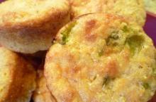Louisiana Crawfish Cornbread Muffins
