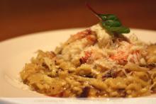 Crab Risotto with Saffron