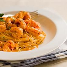 Creamy Crawfish over Pasta