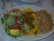 Crawfish Enchiladas Con Queso