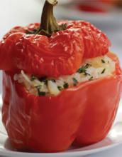 Crawfish-Stuffed Bell Peppers