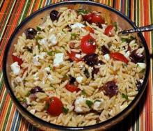 Chicken Salad with Orzo