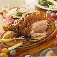 Roast Ham with Cracklings