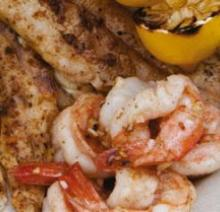 Pan Sautéed Shrimp
