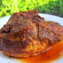 Slow Cooked Barbecue Chicken