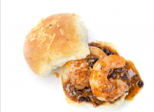 BBQ Shrimp Sliders