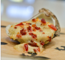 Brie & Bacon Chargrilled Oyster