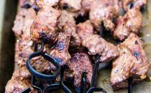 Grilled Beef Kebabs
