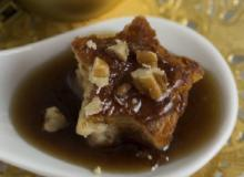 Bread Pudding with Hard Sauce