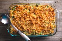 Broccoli, Rice, and Cheese Casserole