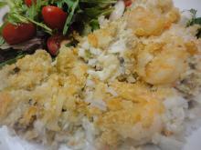 Cajun Seafood Rice Casserole