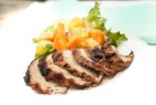 Caribbean-Marinated Pork Tenderloin