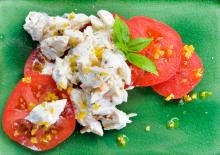 Louisiana Jumbo Lump Crab with Creole Tomatoes