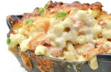 Crawfish Mac and Cheese