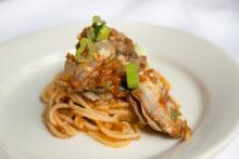 Alex Patout's Creole Oyster Spaghetti