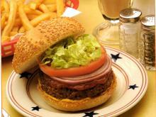 Classic American Diner Burger