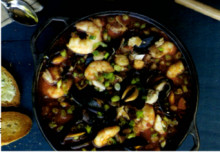 Grilled Seafood Stew