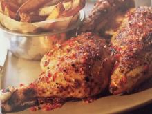 Grilled Chicken on a Spit