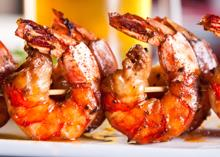 Sweet Creole Glazed Shrimp