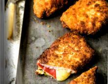 Ham- and Cheese-Stuffed Pork Chops