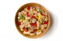 Lemon Rosemary Beans